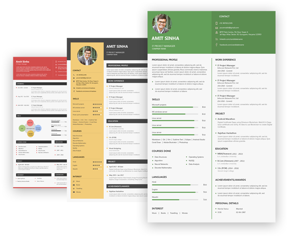 Resume Builder Free Online Cv Maker Shine Resume